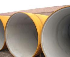 水泥砂浆衬里防腐螺旋钢管